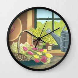 La fenetre Wall Clock
