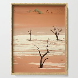 NAMIBIA ... Deadvlei III Serving Tray