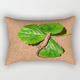 I am busy, I am tanning Rectangular Pillow