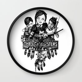 Rapture's Emblems : The Little Sisters Wall Clock