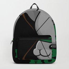 Robbe - Funny Robben Hood Saying Joke Backpack