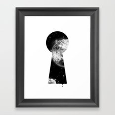 Key To The Stars Framed Art Print