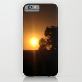 Sunset Inclusion iPhone Case