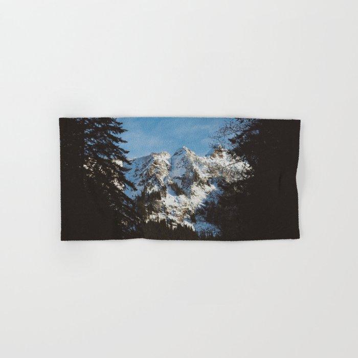 Rustic mountain Hand & Bath Towel