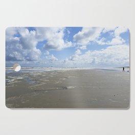 Cloudy seascape panorama Cutting Board