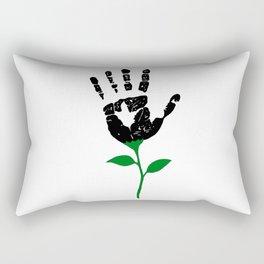 Handprint Rectangular Pillow
