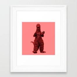 Redzilla Framed Art Print