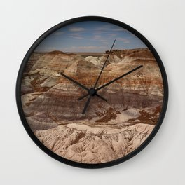 Colors Of The Painted Desert Wall Clock
