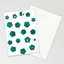 Pentagons of May 19 Stationery Cards