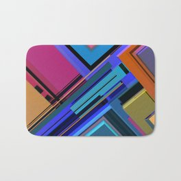 Abstract Composition 611 Bath Mat