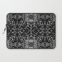 Black Rose Pattern Laptop Sleeve