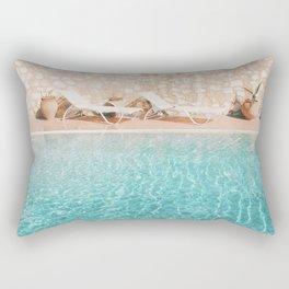 Swimming Pool V Rectangular Pillow