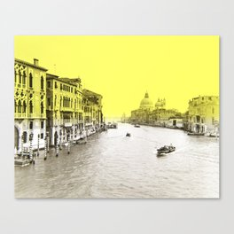 big channel Canvas Print