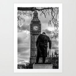 Churchill Empire Art Print