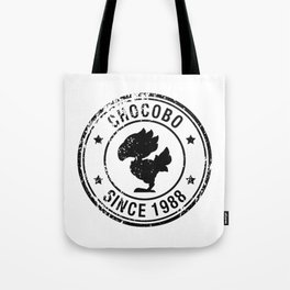 Chocobo since 1988 - Final Fantasy series Tote Bag