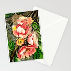 Flower Mixed-Media Stationery Cards