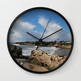 Rocky Cali Coast Wall Clock