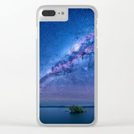 STARRY NIGHTS Clear iPhone Case