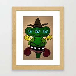 (Just another) Unsophisticated Hillbilly from Outer Space Framed Art Print