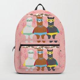 Alpaca Superheroes I Backpack
