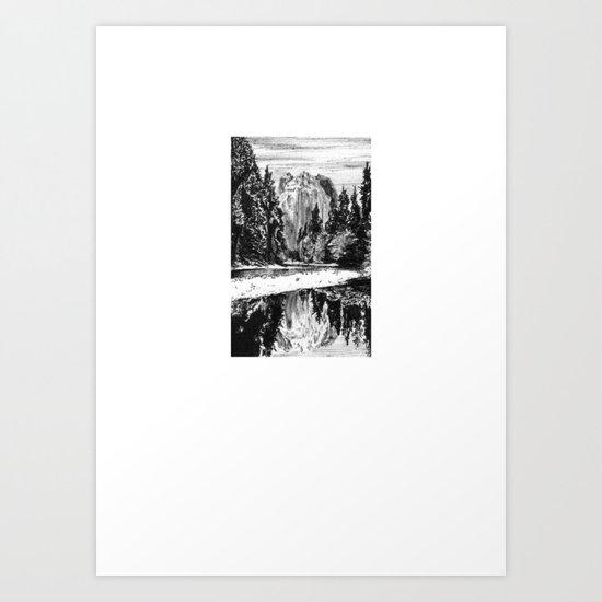 El Capitan Art Print