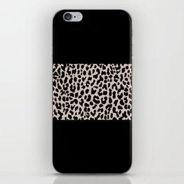 Leopard National Flag VI iPhone Skin