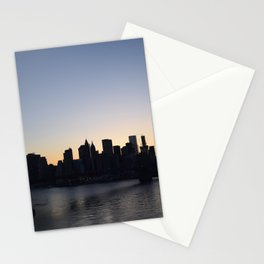 Manhattan From The Manhattan Bridge Stationery Cards