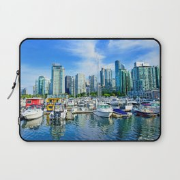 Vancouver Marina Laptop Sleeve
