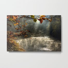 autumn light serenity Metal Print