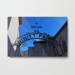 Trinity Parish Episcopal Church Entrance II Metal Print