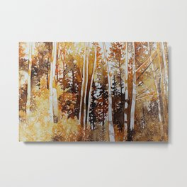 Autumn Warmth Metal Print