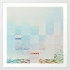 Fractions A51 Art Print