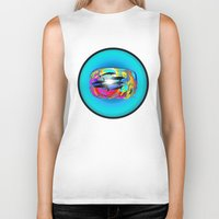 dolphins Biker Tanks featuring Dolphins by JT Digital Art