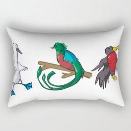 Rare Old Birds Rectangular Pillow