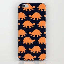Turtles Orange iPhone Skin