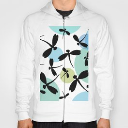 Dragonflies and Space Bubbles Hoody