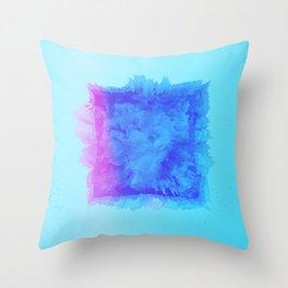 Blue mode Throw Pillow