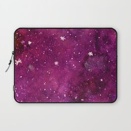 Watercolor galaxy - pink and purple Laptop Sleeve
