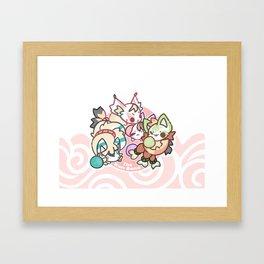 KON BON - QUAD SQUAD Framed Art Print