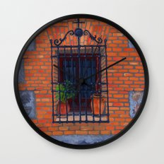 Toledo window Wall Clock