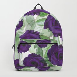 Watchful Roses Backpack