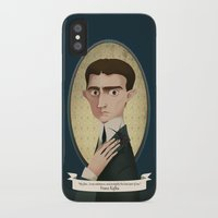 kafka iPhone & iPod Cases featuring Franz Kafka said... by Mrs Peggotty