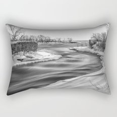 Down to the river Rectangular Pillow