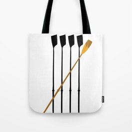 Rowing Oars 4 Tote Bag