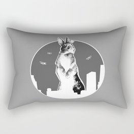 King Bunny Rectangular Pillow