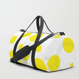 Dotted pattern Duffle Bag