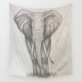 Roaming the South African Plains Wall Tapestry