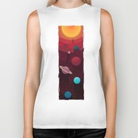 solar system Biker Tanks featuring Solar System by badOdds