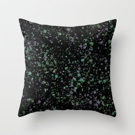 Splats Throw Pillow