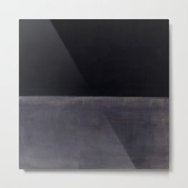 Untitled (Black on Grey) by Mark Rothko HD Metal Print